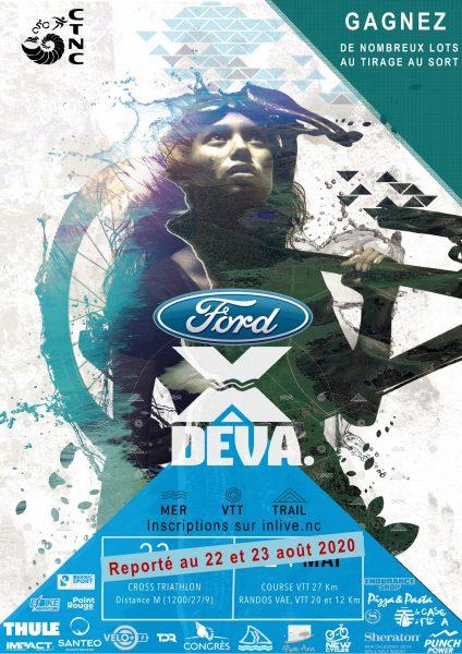 La XDEVA sur le Domaine de Déva à Bourail - course triathlon et VTT