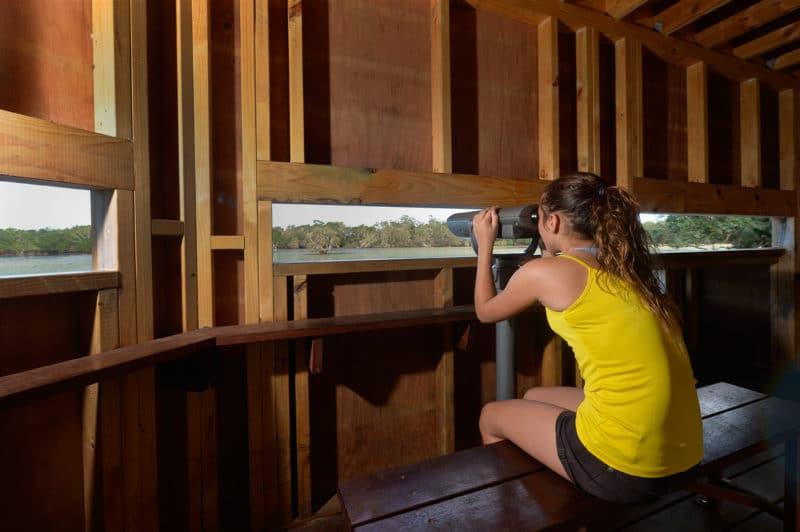 Observatoire ornithologique du domaine de Déva