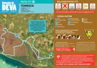 Trace piste VTT Temrock