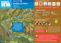Trace piste VTT Riviere de Deva