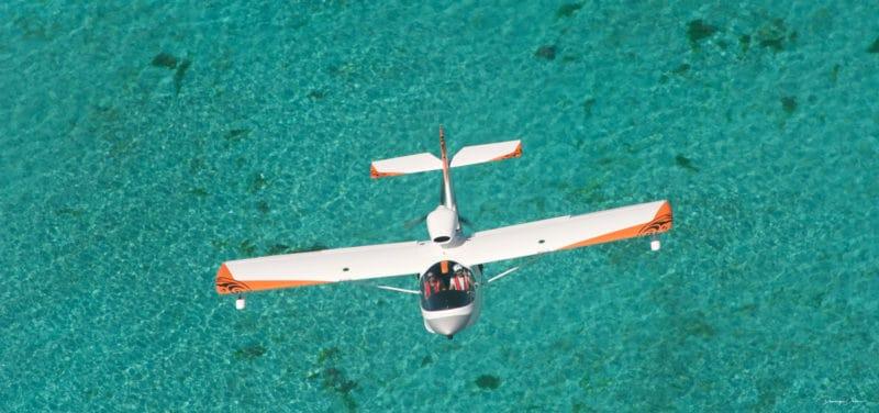 Vol en Hydravion au Domaine de Déva