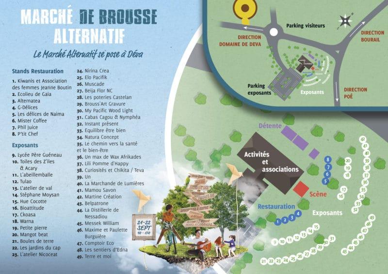 Le marché alternatif de Brousse au Domaine de Déva réunira près de 50 exposants d'artisanat, de plantes, de produits alimentaires, ... aux démarches éco-responsables, bio ou ecologiques à Déva