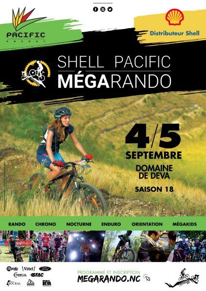 Shell pacific Megarando. la plus grosse compétition VTT de l'année au Domaine de Déva. un évènement sportif et convivial pour toute la famille.