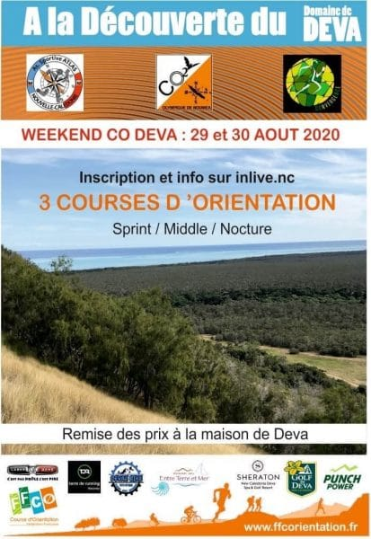 Grand week end course d'orientation au Domaine de Déva.