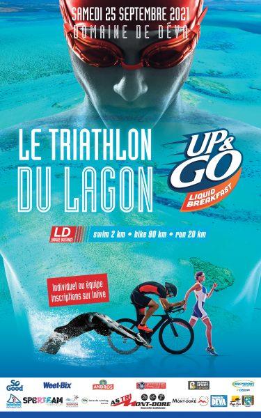 course traithlon longue distance - le triathlon du lagon au Domaine de Déva Bourail