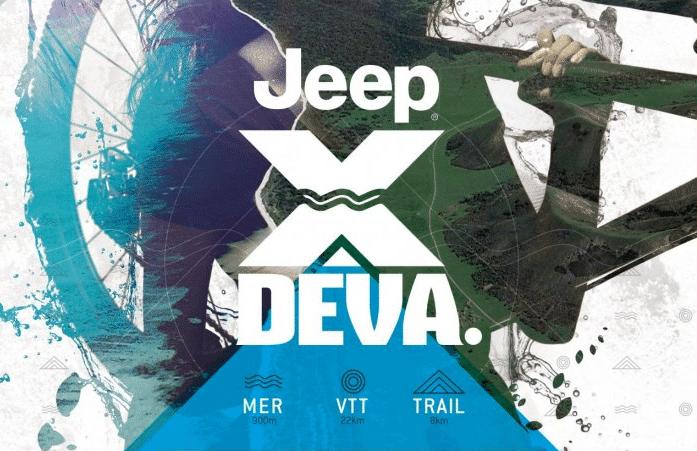 JEEP XDEVA: Evènement triathlon et VTT au Domaine de Déva