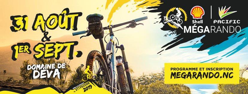 La MEGArando à Déva est l'événement incontournable des passionnés de VTT en Nouvelle Calédonie