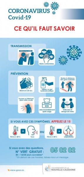 Le Domaine de Déva à Bourail est fermé afin déviter la propagation de l'épidémie de corona-virus COVID-19. Voici la liste des consignes sanitaires et bons gestes à appliquer.