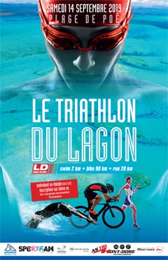Thriathlon du Lagon au Domaine de Déva à Bourail