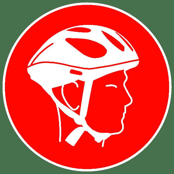 Le port du casque est obligatoire sur tout le Domaine de Déva à Bourail dès lors que l'on circule à vélo.