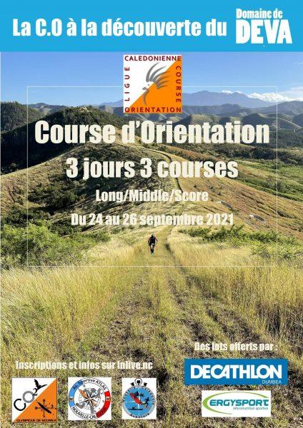week end course d'orientation sur le Domaine de Déva à Bourail